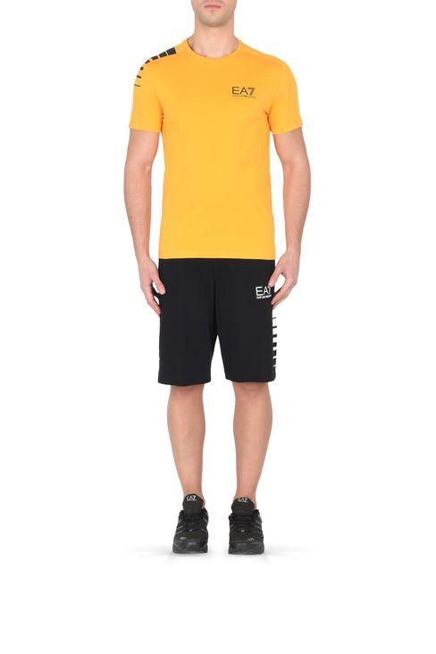 T-SHIRT IN COTONE : Polo maniche corte Uomo by Armani - 2
