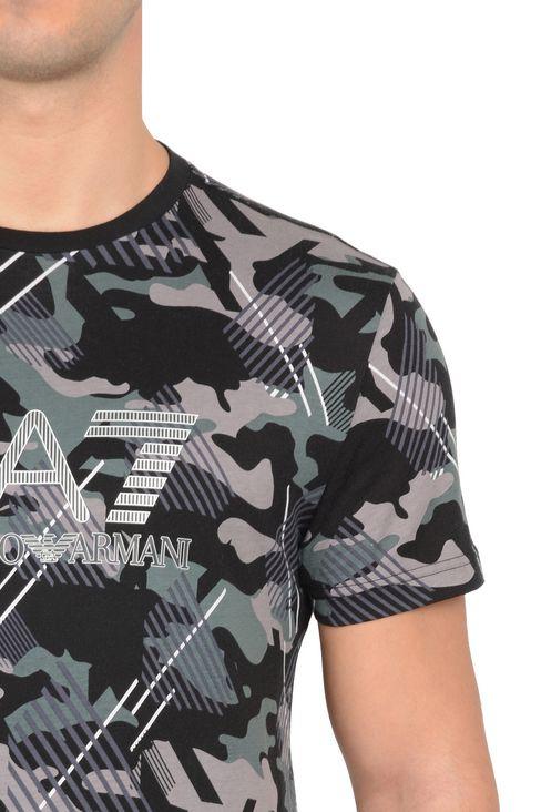 T-SHIRT IN COTONE : T-Shirt manica corta Uomo by Armani - 4