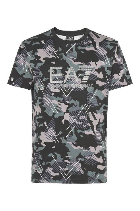 T-SHIRT IN COTONE : T-Shirt manica corta Uomo by Armani - 1