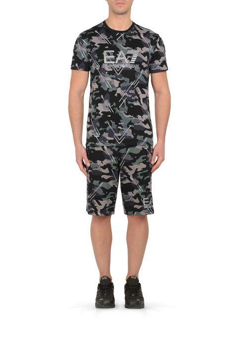 T-SHIRT IN COTONE : T-Shirt manica corta Uomo by Armani - 2
