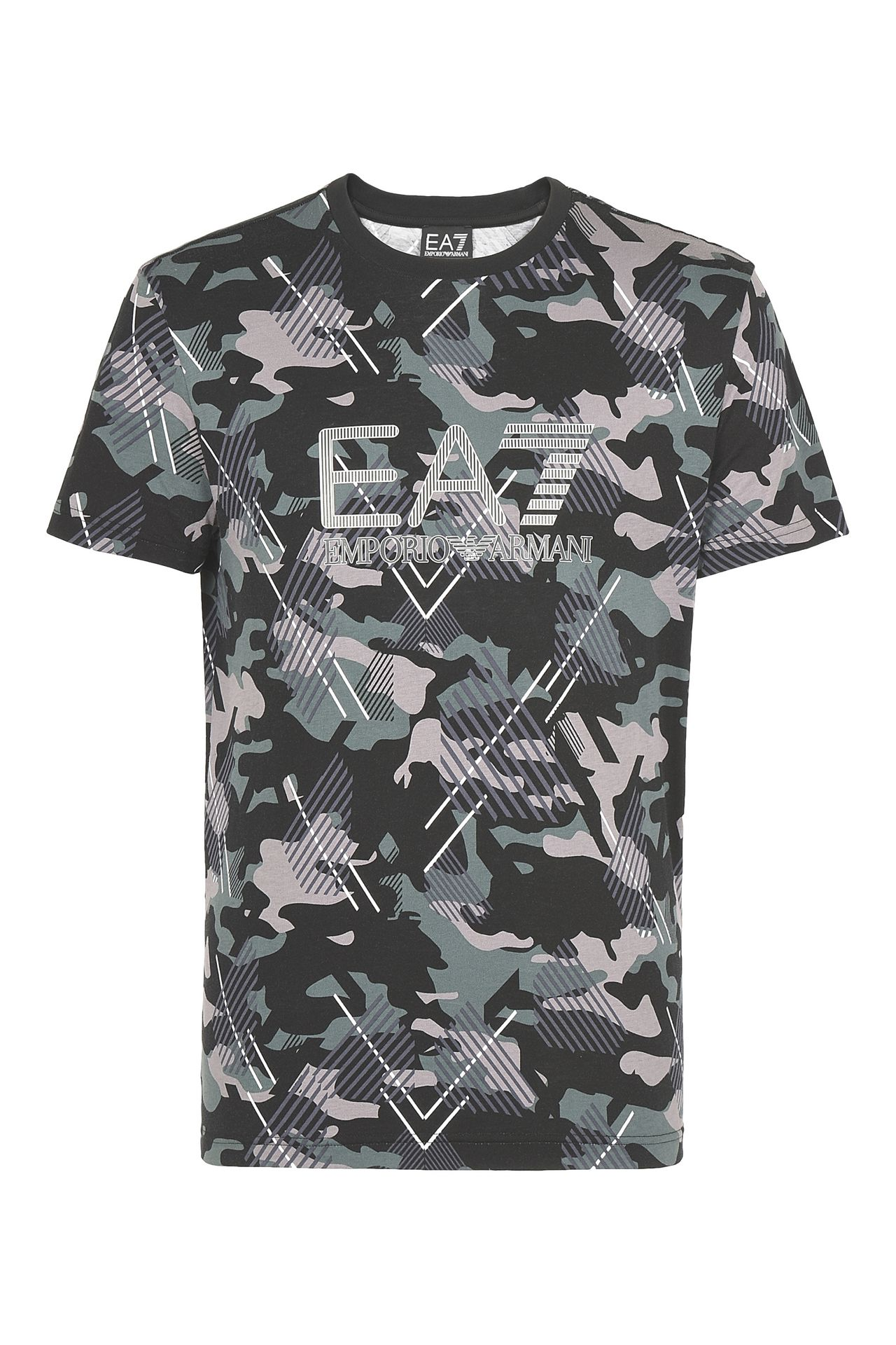 T-SHIRT IN COTONE : T-Shirt manica corta Uomo by Armani - 0