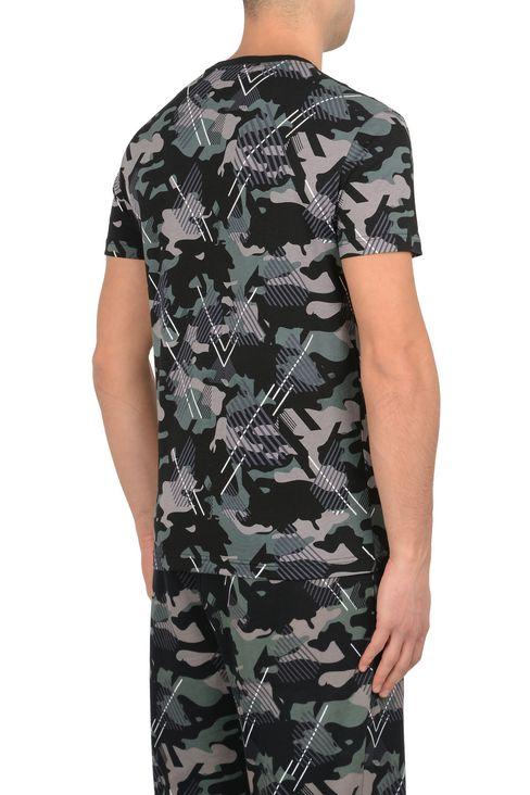 T-SHIRT IN COTONE : T-Shirt manica corta Uomo by Armani - 3
