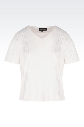 Armani Short-sleeve t-shirts Women t-shirts and sweatshirts