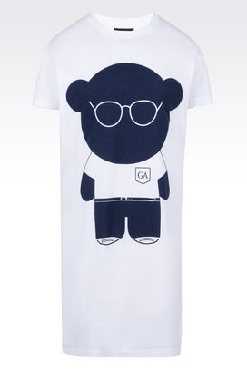 Armani Short-sleeve t-shirts Women teddy bear print cotton t-shirt