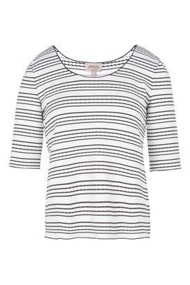 Armani T-Shirt Donna t-shirt jacquard a righe
