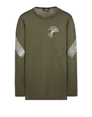 20310 CATCH POCKET-T LONG SLEEVE, PRINTED (JERSEY MAKO)