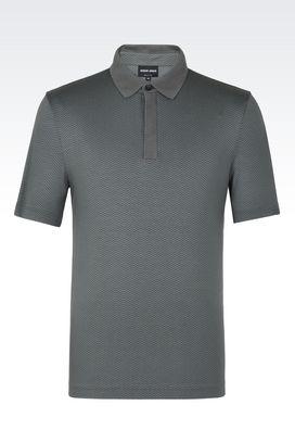 Armani T-shirts Uomo t-shirt polo in jersey