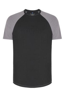 Armani T-Shirt Homme t-shirt ras-du-cou avec logo ton sur ton
