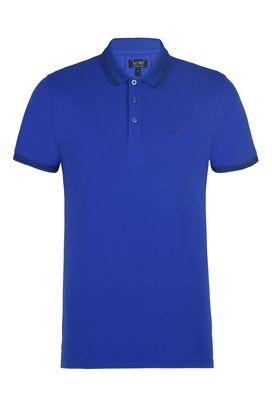 Armani Short-sleeved polos Men cotton piqué polo shirt