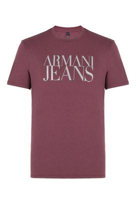 Armani Print t-shirts Men writing print cotton crew neck t-shirt