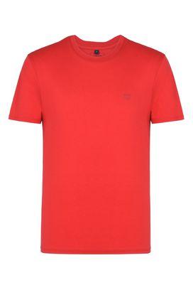 Armani T-Shirt Homme t-shirt ras-du-cou en coton avec imprimé au dos