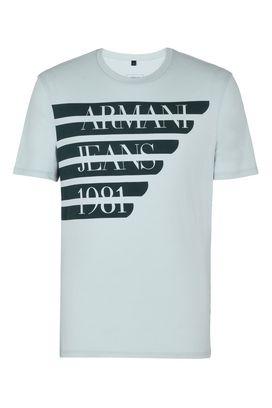 Armani Print t-shirts Men cotton crew neck t-shirt with print