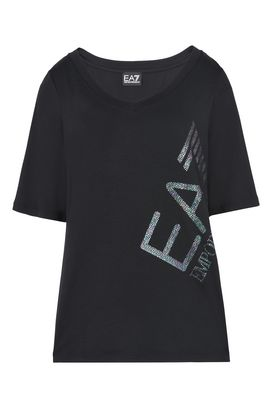 Armani T-Shirt manica corta Donna t-shirt in cotone stretch