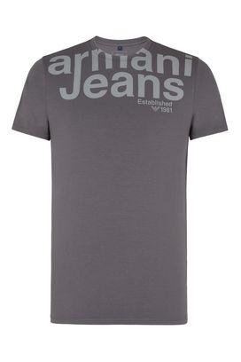 Armani Tshirt stampate Uomo t-shirt girocollo in jersey
