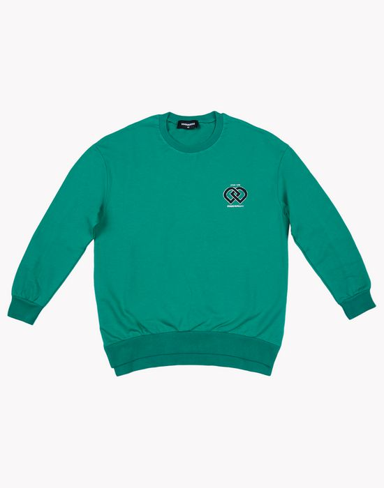 dd sweatshirt tops & tees Woman Dsquared2