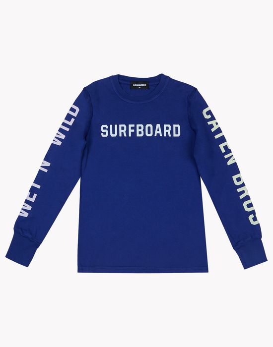 print long sleeve tops & tees Man Dsquared2