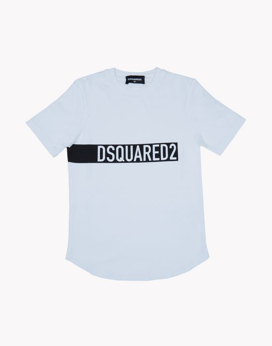 print t-shirt top wear Man Dsquared2