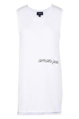 Armani Canotte Donna top in jersey di cotone