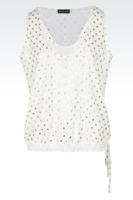 Armani Sleeveless tops Women tops