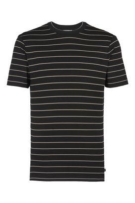 Armani Tshirt stampate Uomo t-shirt girocollo in jersey a righe