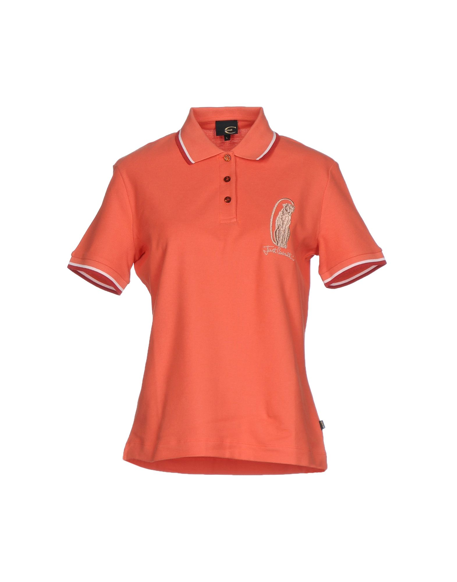 just cavalli female just cavalli polo shirts
