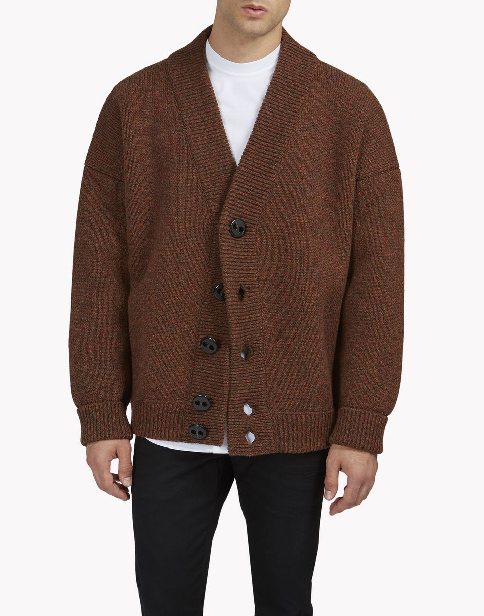 oversize wool cardigan tops & tees Man Dsquared2