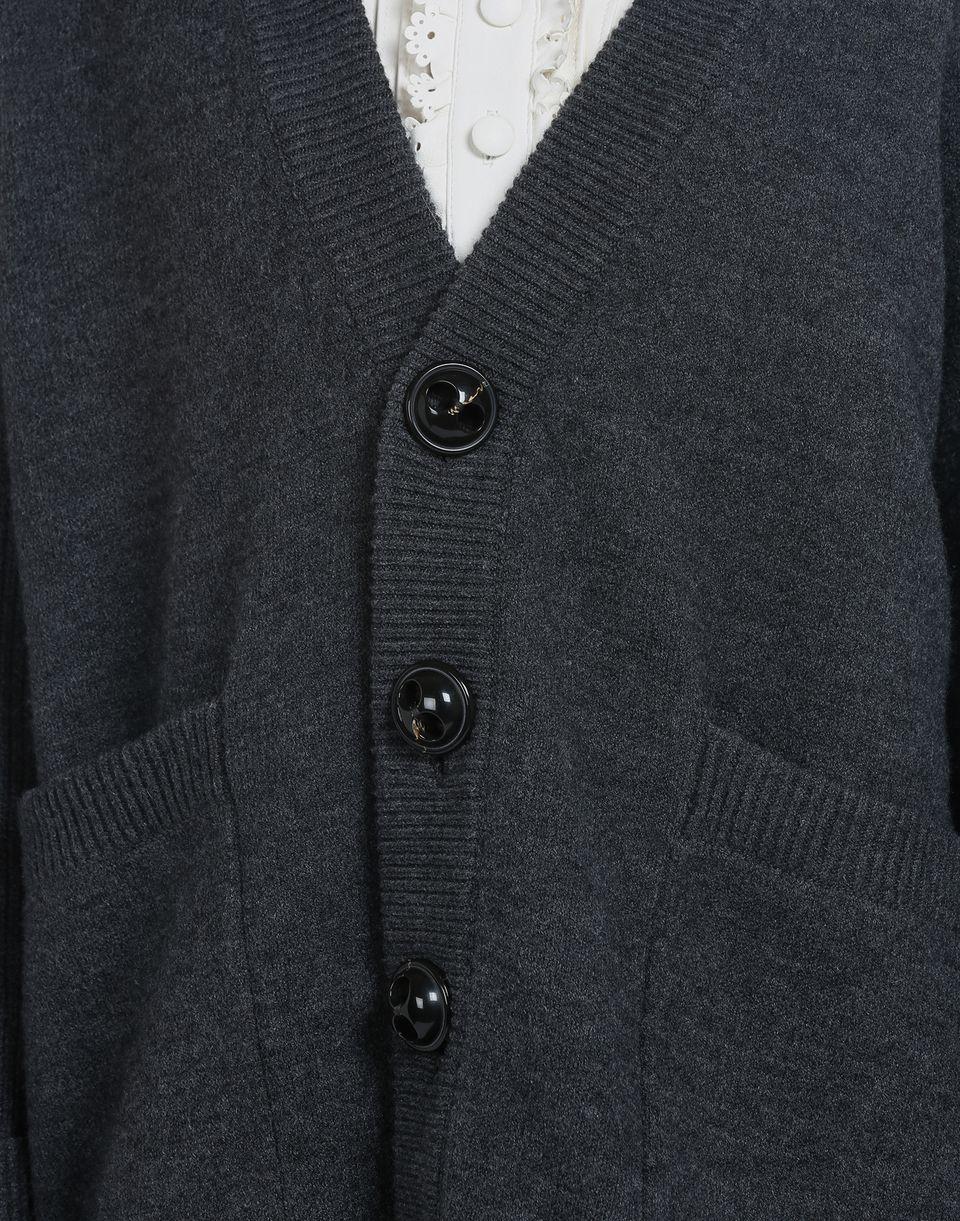 oversize wool cardigan tops & tanktops Damen Dsquared2