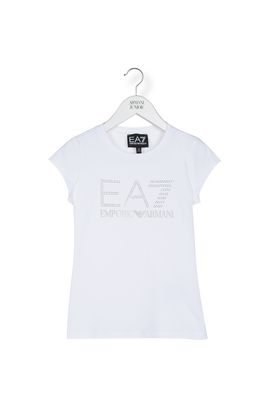 Armani T-Shirt Donna t-shirt in cotone stretch