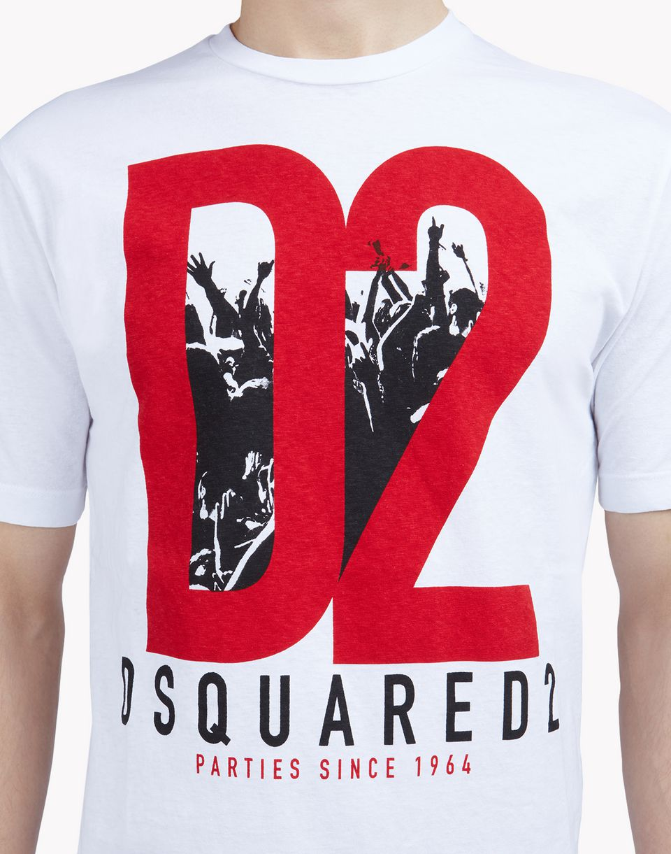 dsquared2 d2 t shirt short sleeve t shirts men. Black Bedroom Furniture Sets. Home Design Ideas