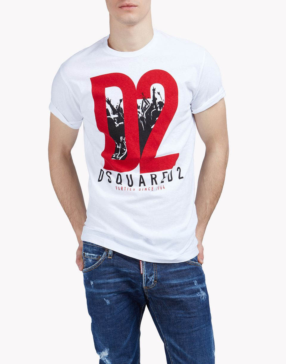 dsquared2 d2 t shirt short sleeve t shirts men dsquared2 online store. Black Bedroom Furniture Sets. Home Design Ideas
