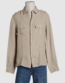 Camicia SLIM FIT celeste con fatasia stellata collo francese oxford moda uomo