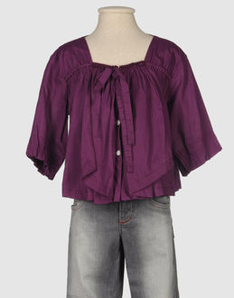 (EMMA) ETHIC LITTLE GIRL SHIRTS Short sleeve shirts WOMEN on YOOX.COM