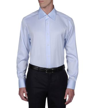 ERMENEGILDO ZEGNA: Formal Shirt  - 38188297FU