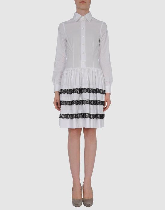 Фото MOSCHINO Короткое платье. Купить с доставкой