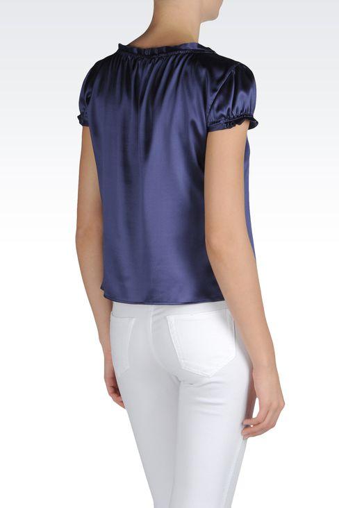 Shirts: Blouses Women by Armani - 3