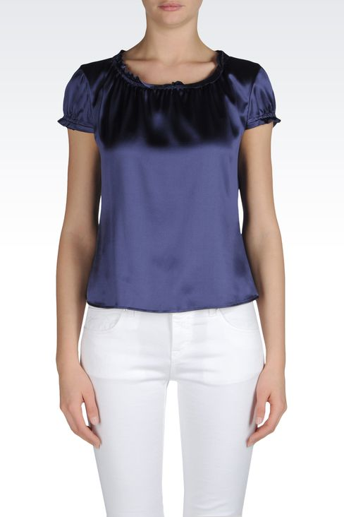 Shirts: Blouses Women by Armani - 2