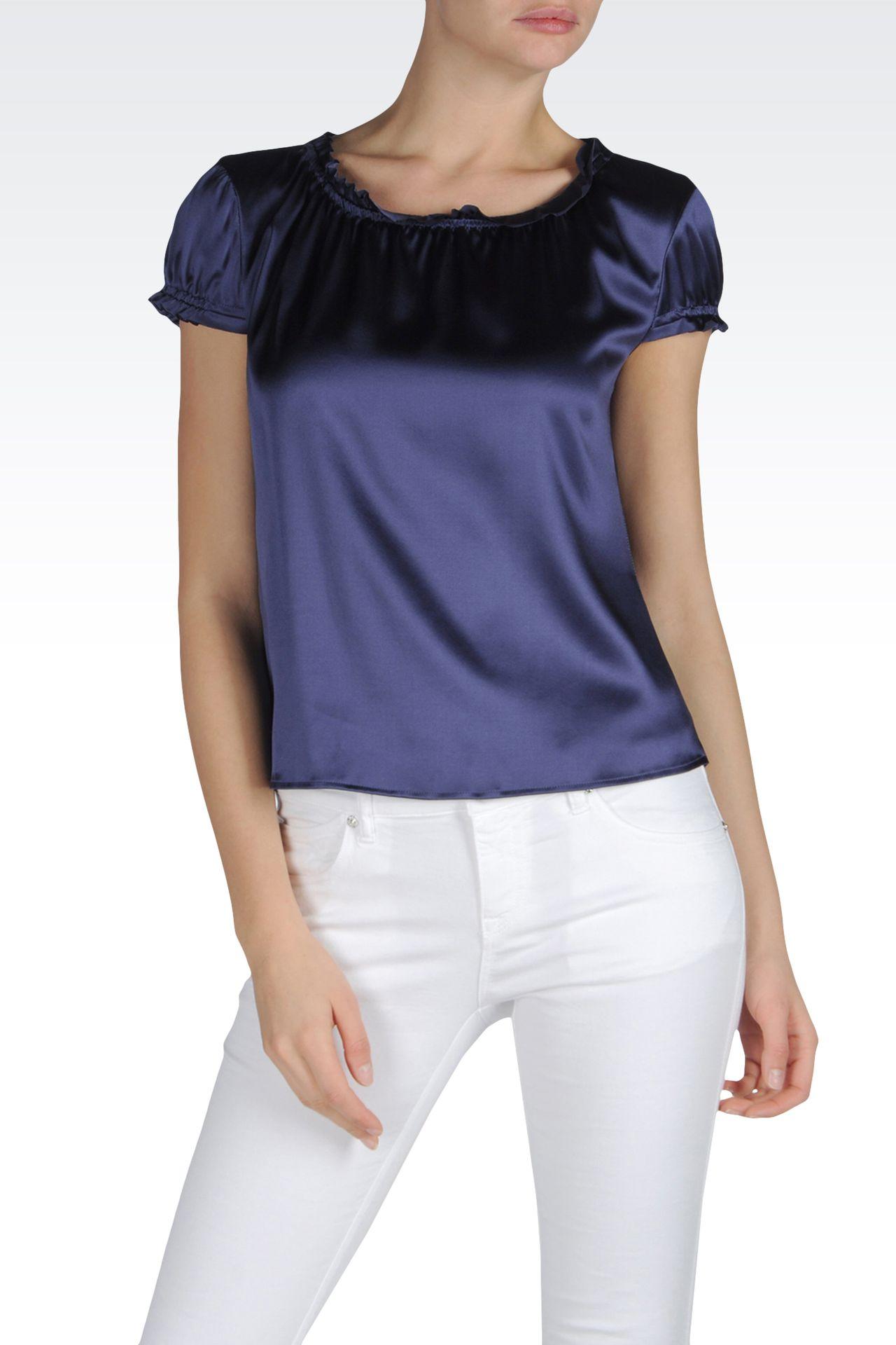Shirts: Blouses Women by Armani - 0