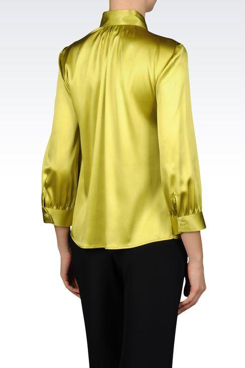 Hemden: Hemden mit ¾-Ärmeln Für Sie by Armani - 3