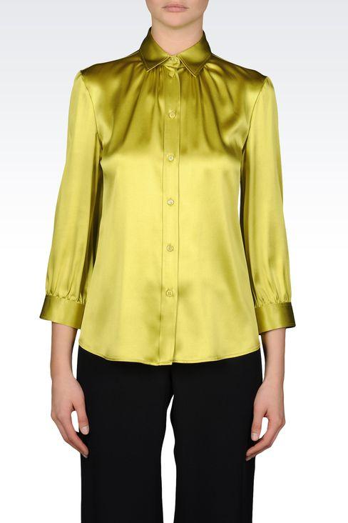 Hemden: Hemden mit ¾-Ärmeln Für Sie by Armani - 2