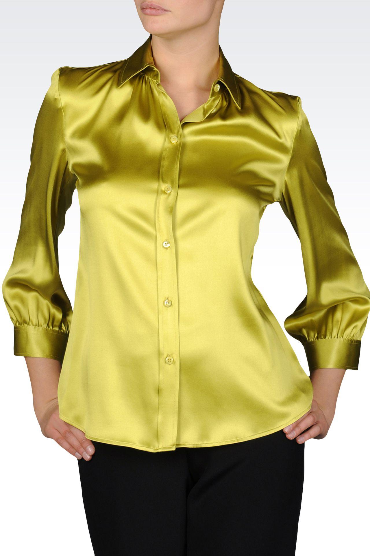 Hemden: Hemden mit ¾-Ärmeln Für Sie by Armani - 0
