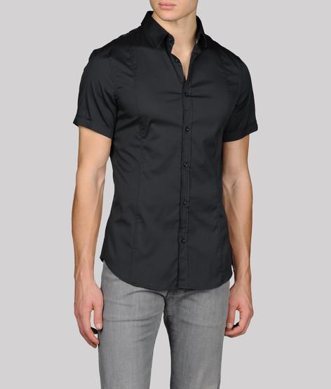男士短款衬衫   armani
