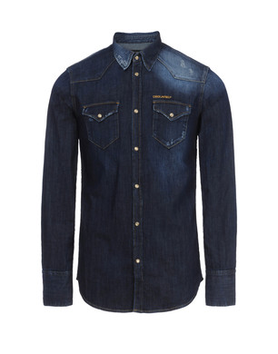 Denim shirt Men's - DSQUARED2
