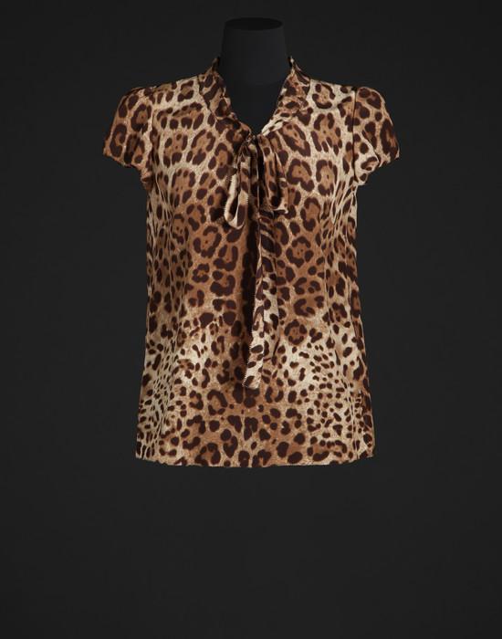 Crepe de chine blouse - Blouses - Dolce&Gabbana - Summer 2016