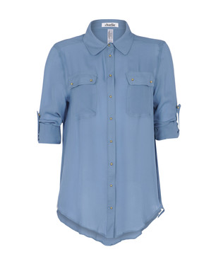 Shirt with 3-4-length sleeves Women's - CHARLIE BY MATTHEW ZINK