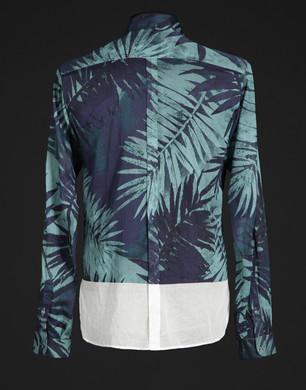Patterned Polo shirt - Long sleeve shirts - Dolce&Gabbana - Summer 2016