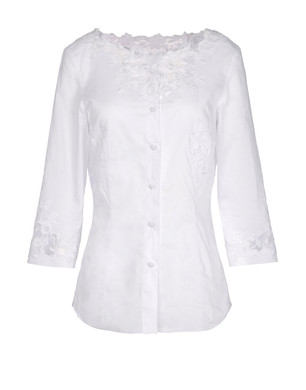 Shirt with 3-4-length sleeves Women's - ERMANNO SCERVINO