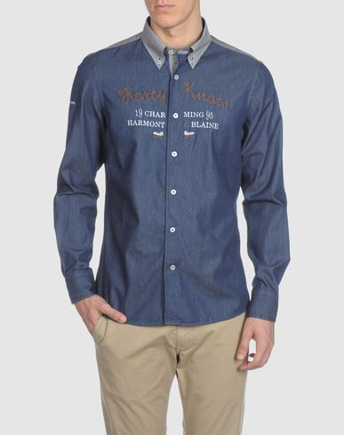 HARMONT&BLAINE - Denim shirt