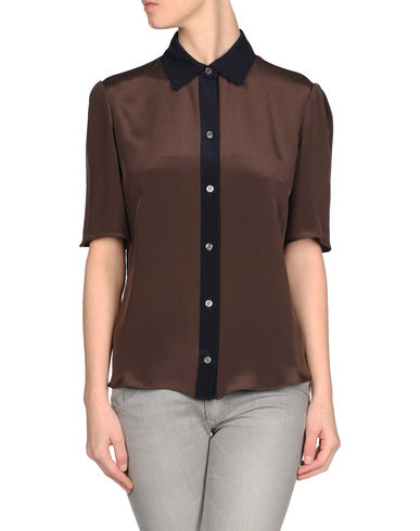 DEREK LAM - Short sleeve shirt