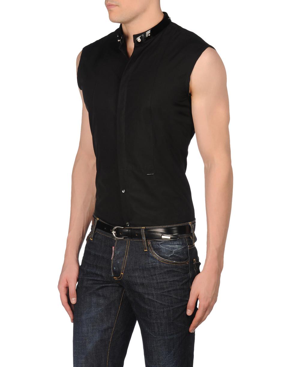 chemise sans manches homme dsquared2 boutique en ligne. Black Bedroom Furniture Sets. Home Design Ideas