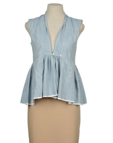 CAROLE FAKIEL - Sleeveless shirt
